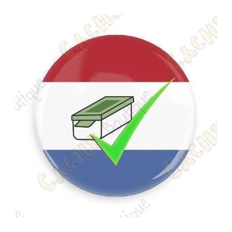 Geo Score Badge - Pays Bas