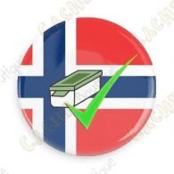 Geo Score Badge - Norvège