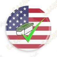 Geo Score Badge - Etats-Unis
