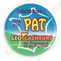 Chapa Geocacheurs de Provence - PAT