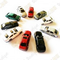 Small cars - Pack of 10