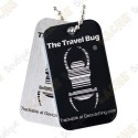Travel bug QR - Negro