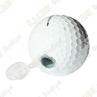 Esta bola de golfe vai passar despercebida para os muggles!