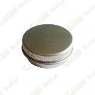 """Cache """"Tin"""" magnético - Círculo 4 cm plana"""