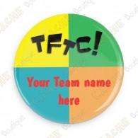 Chapa Team Name x 50 - Personalizada
