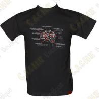 Camiseta 100% algodón, 200g/m².