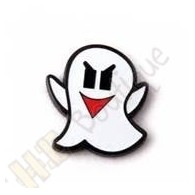 This micro coin represents a little ghost, icon of virtual caches.