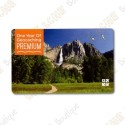 Carte d'abonnement PREMIUM geocaching.com - 1 an