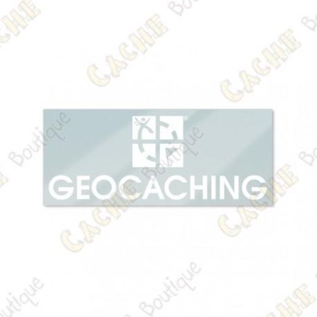 GEOCACHING inside car sticker
