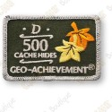 Geo Achievement® 500 Hides - Patch