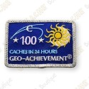 Geo Achievement® 24 Hours 100 Caches - Parche