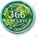Geo Achievement® 366 Jours - Patch