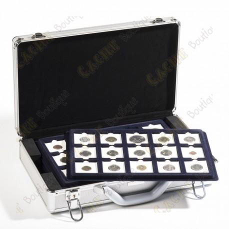 Mala para geocoins Cargo L6 com bandejas