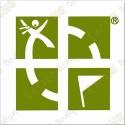 Big Groundspeak sticker - Green