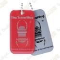 Travel bug QR - Vermelho