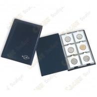 Peut contenir jusqu'à 60 géocoins dans des cases de 50 x 50mm.