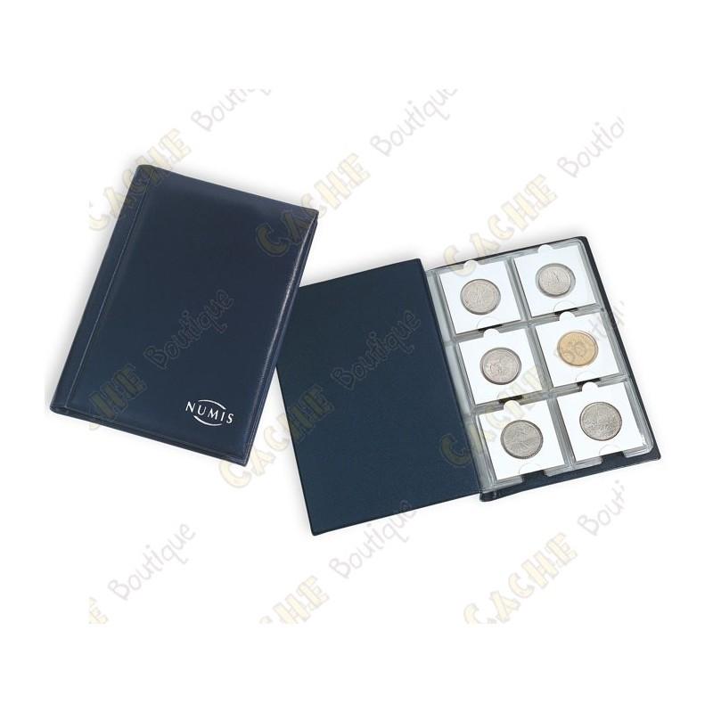 album de poche numis pour g ocoins cache boutique. Black Bedroom Furniture Sets. Home Design Ideas