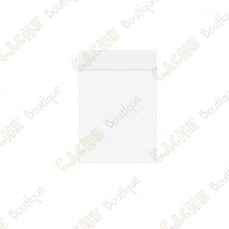 Bolsa Zip x10 - 4 x 5 cm