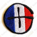Geocaching round patch - France