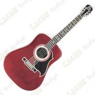 Géocoin en forme de guitarre.