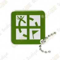 Traveler Logo Geocaching - Vert