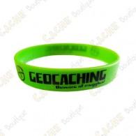 Bracelet silicone Geocaching Enfants  - Vert