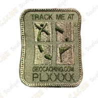 Patch Geocaching trackable - Kaki