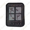 Geocaching Logo Trackable Patch - Negro