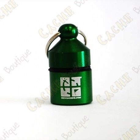 Nano Cache official com anel - Verde