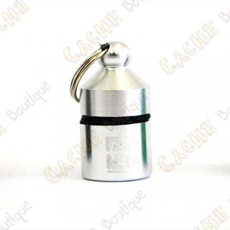 Hanging Official Nano Cache - Silver