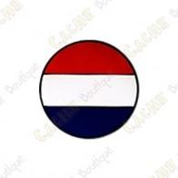 Micro coin représentant le drapeau des Pays-Bas.