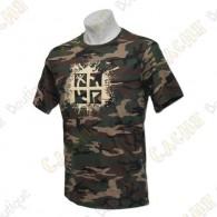 T-shirt 100% algodão.