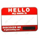 Name tag trackable - Red