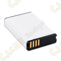 Para saídas prolongadas, leve uma bateria de iões de lítio adicional, ou adquira uma de substituição para o seu dispositivo Garmin compatível.