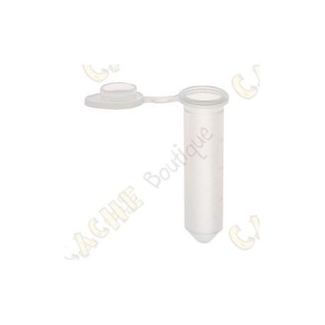 Micro Tube 2,0 ml x 10 - Transparent