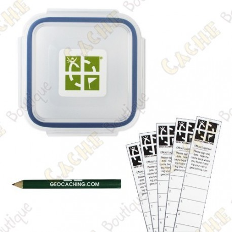 "Kit ""Official Geocache"" - X-Small"
