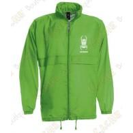 "Parka ""K-Way"" type - Green"