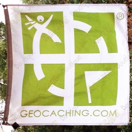 Drapeau Géocaching trackable - Grand modèle