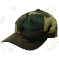 Camouflage cap - Green