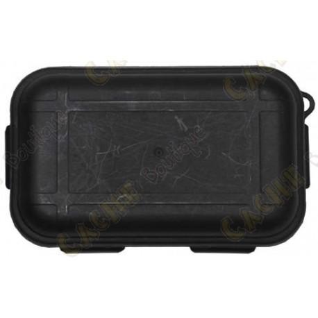 Caja impermeable negro con Kit de Supervivencia