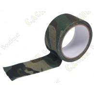 Camuflagem adesivo grande - Verde