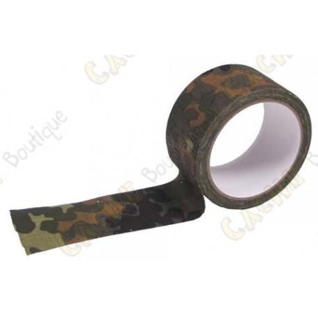 Adhesive wide camo tape - Jungle