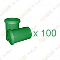Mega-Pack - Film canister green x 100
