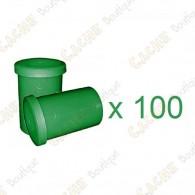 Mega-Pack - Film canister vert x 100