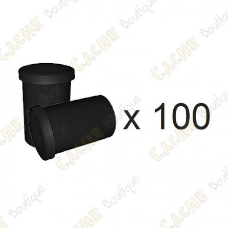 Mega-Pack - Film canister black x 100