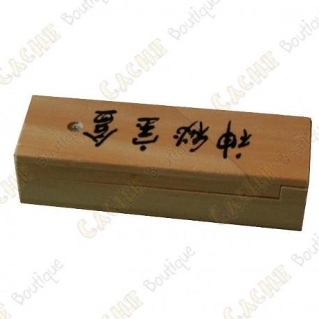 "Cache ""Secret box"" wood"