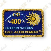 Geo Achievement® 24 Hours 400 Caches - Patch