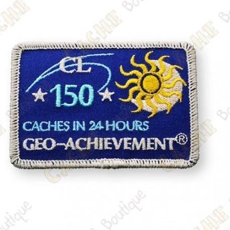 Geo Achievement® 24 Hours 150 Caches - Parche