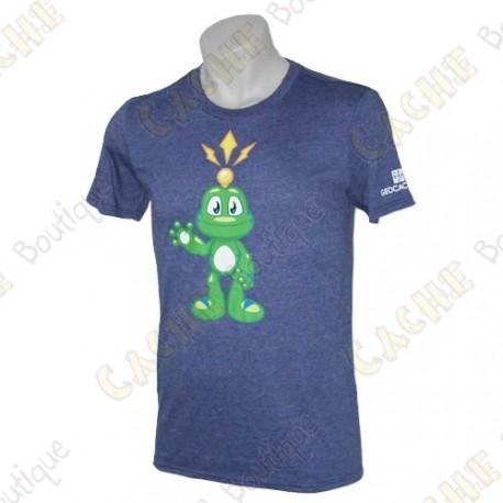 "T-Shirt ""Signal the Frog®"" - Bleu"