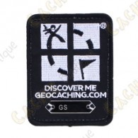 Patch Geocaching trackable - Noir